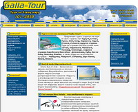 Сайт компании Galla-Tour